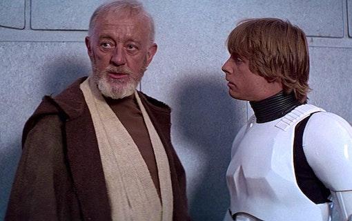 Alec Guinness barnbarn hade cameo i nya Star Wars