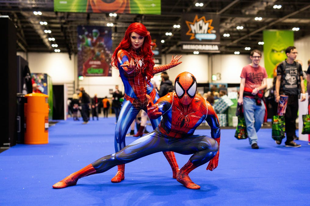 Comic Con i London skjuts upp