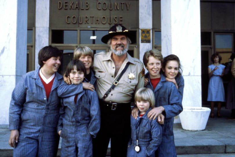 Kenny Rogers i filmen Six Pack från 1982.