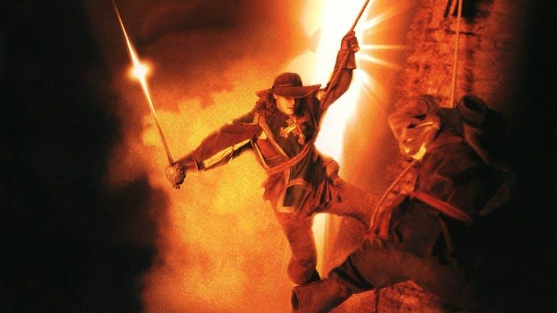 The Musketeer från 2001 kombinerar Hong Kong-filmernas estetik med Alexandre Dumas klassiska äventyr. Foto: Miramax films.