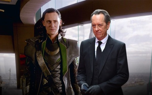 Tom Hiddlestone och Richard E. Grant.