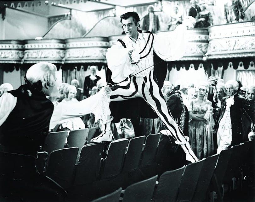 Acaramouche är i sprakande technicolor, men det är svårt att hitta bra bilder för en så gammal film. Foto: Metro_Goldwyn-Mayer.