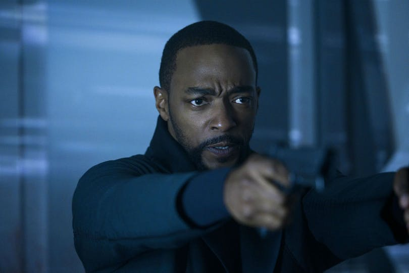 "Anthony Mackie i ""Altered Carbon""."