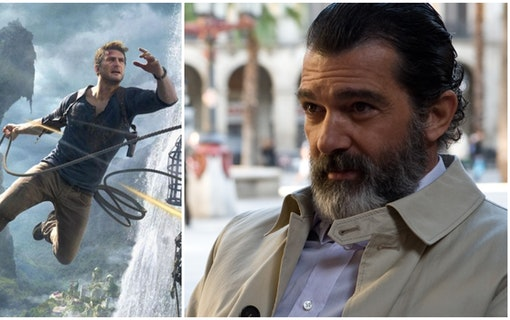 Antonio Banderas i Uncharted-filmen