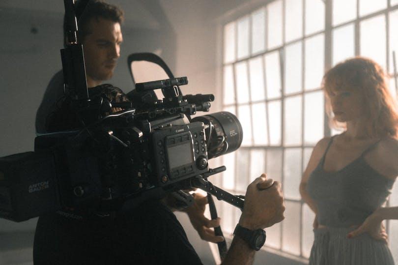 Filmar med camera