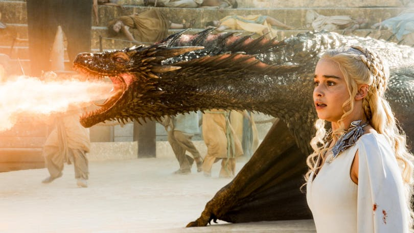 "Daenerys Targaryen i ""Game of Thrones""."