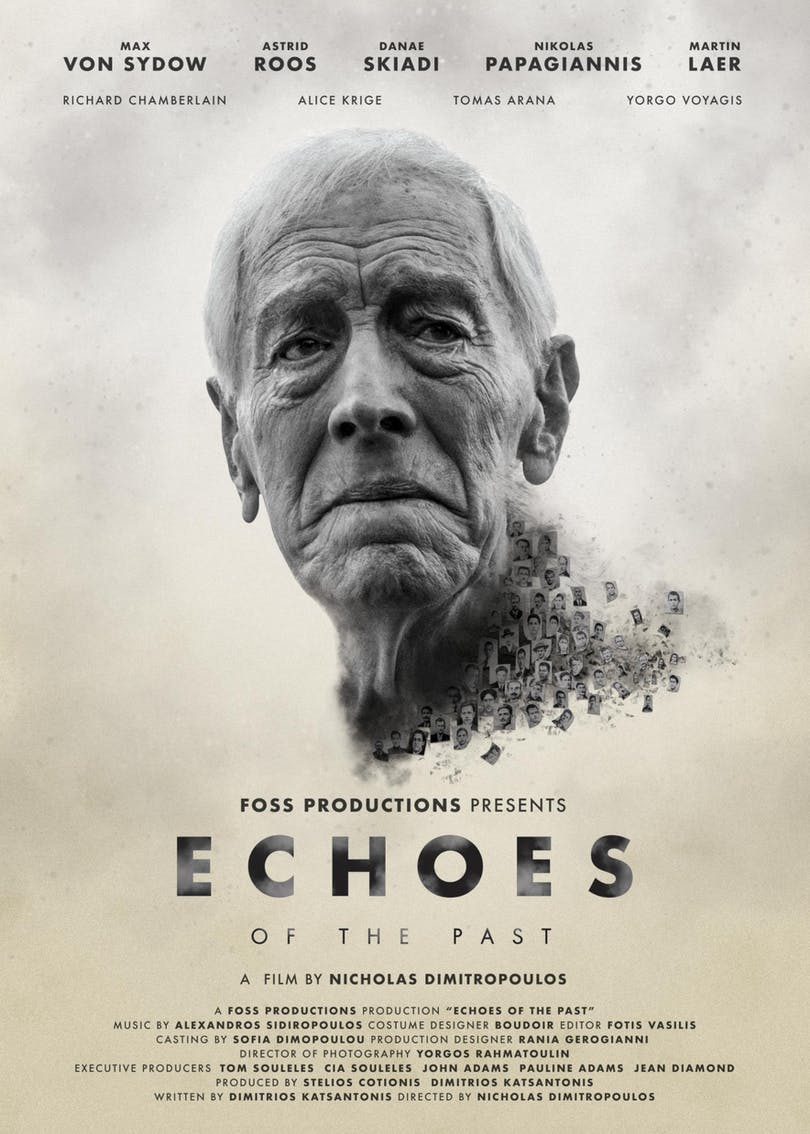 "Max von Sydow på postern till ""Echoes of the Past""."
