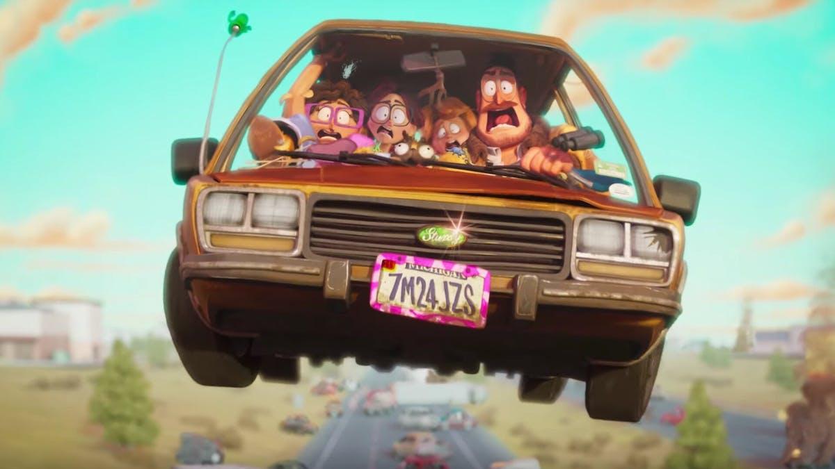 Tekniken spårar ur i trailer till animerade Connected