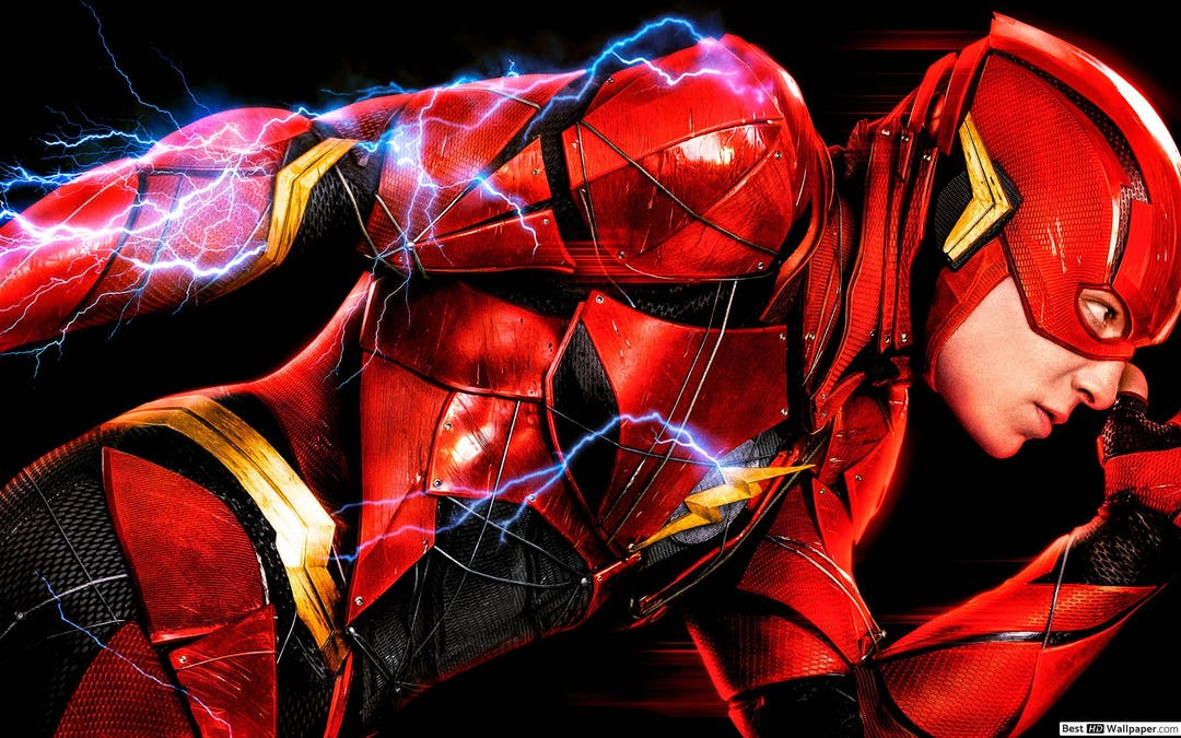 Ezra Miller som Flash.