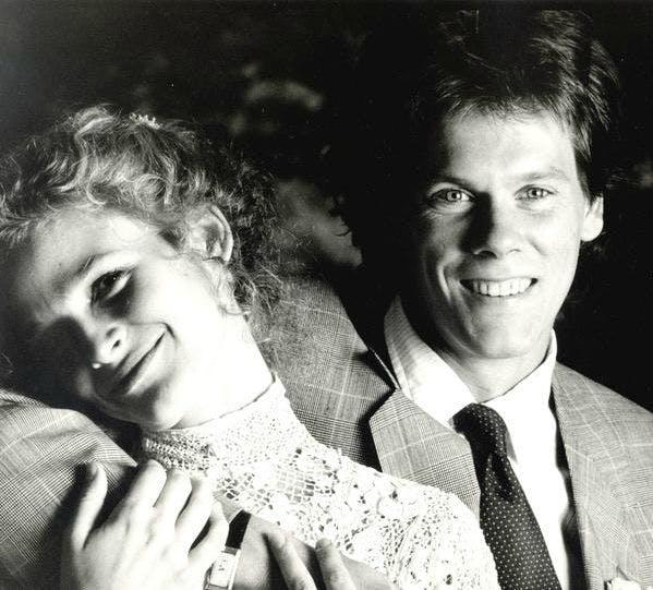 Kevin Bacon och Kyra Sedgwick