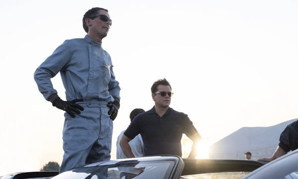 Matt Damon och Christian Bale om Le Mans '66