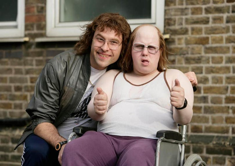 Stillbild ur Little Britain.