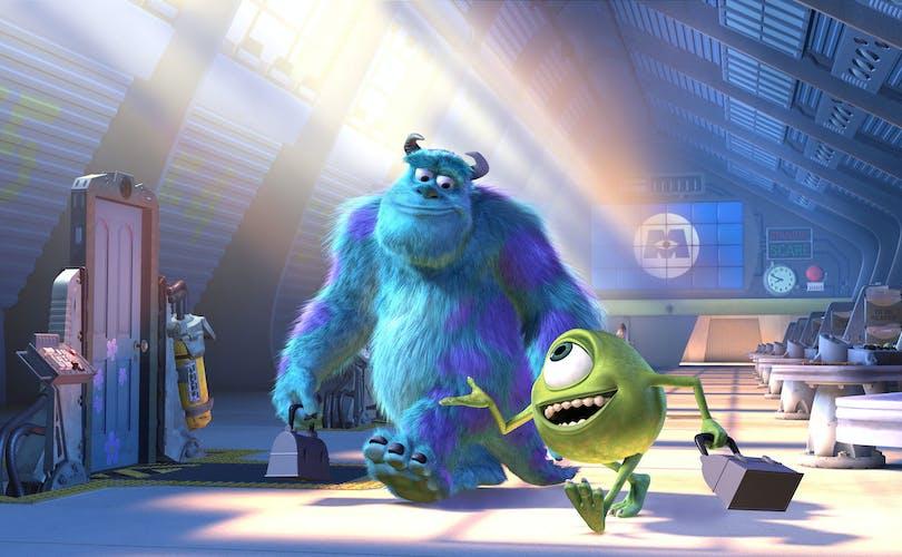"Stillbild ur ""Monsters Inc""."