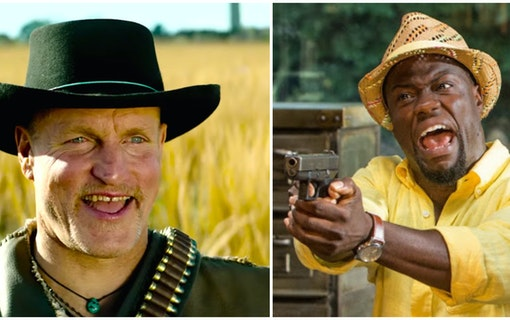 Woody Harrelson gör action med Kevin Hart