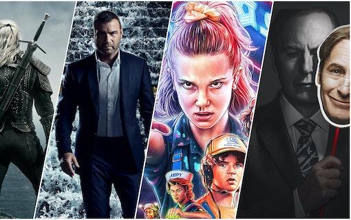 Serier 2020 collage
