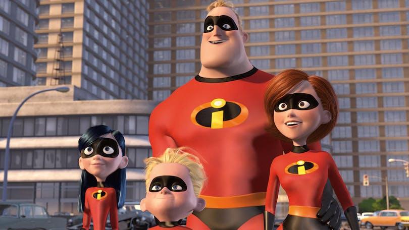 """Bild ur fantastiska """"Superhjältarna""""."""