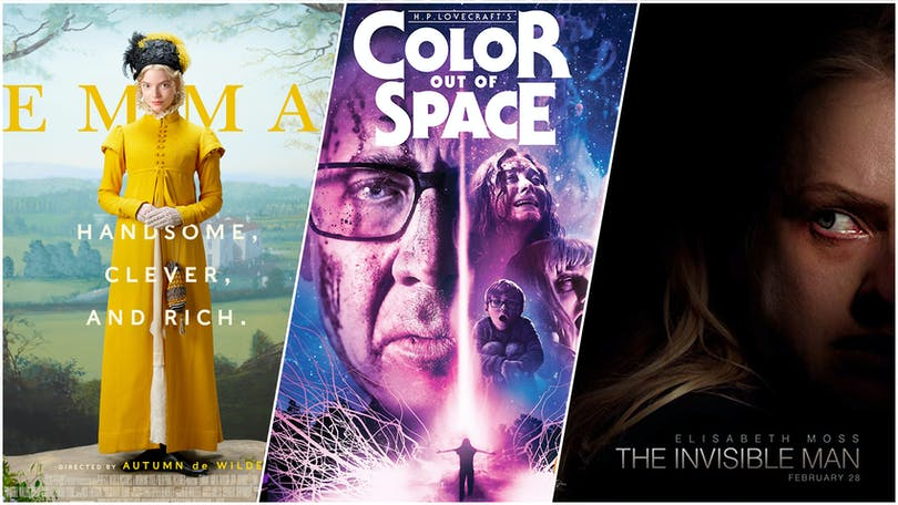 Emma, Color Out of Space, The Invisible Man