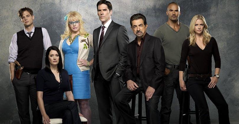 Teamet i Criminal Minds. Foto: Viaplay.