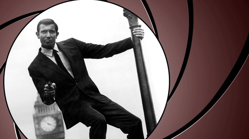 George Lazenby som James Bond. Foto: United International Pictures.
