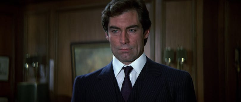Timothy Dalton som James Bond. Foto: United International Pictures.