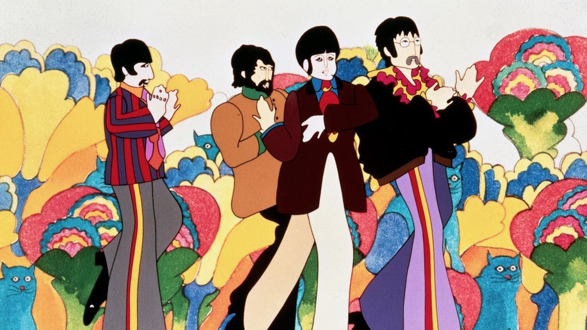 Yellow Submarine.