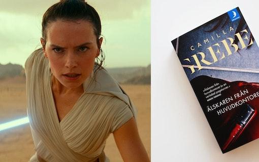 Star Wars-stjärnan aktuell för Camilla Grebe-film