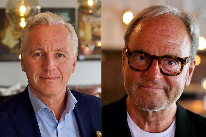 Mikael Fellenius och Peter Possne