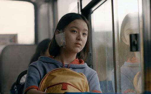 Eunhee åker buss