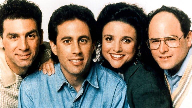 """Gänget i """"Seinfeld""""."""