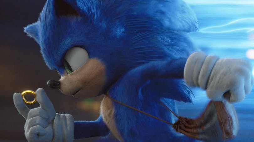 "Stillbild ur ""Sonic The Hedgehog"""