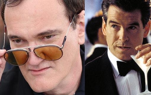 Tarantino ville göra Bondfilm –träffade Brosnan