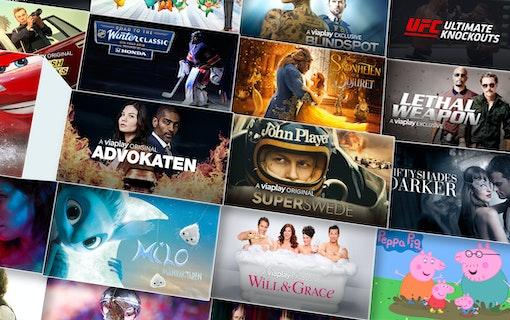 Viaplay lanseras i Kanada och Storbritannien