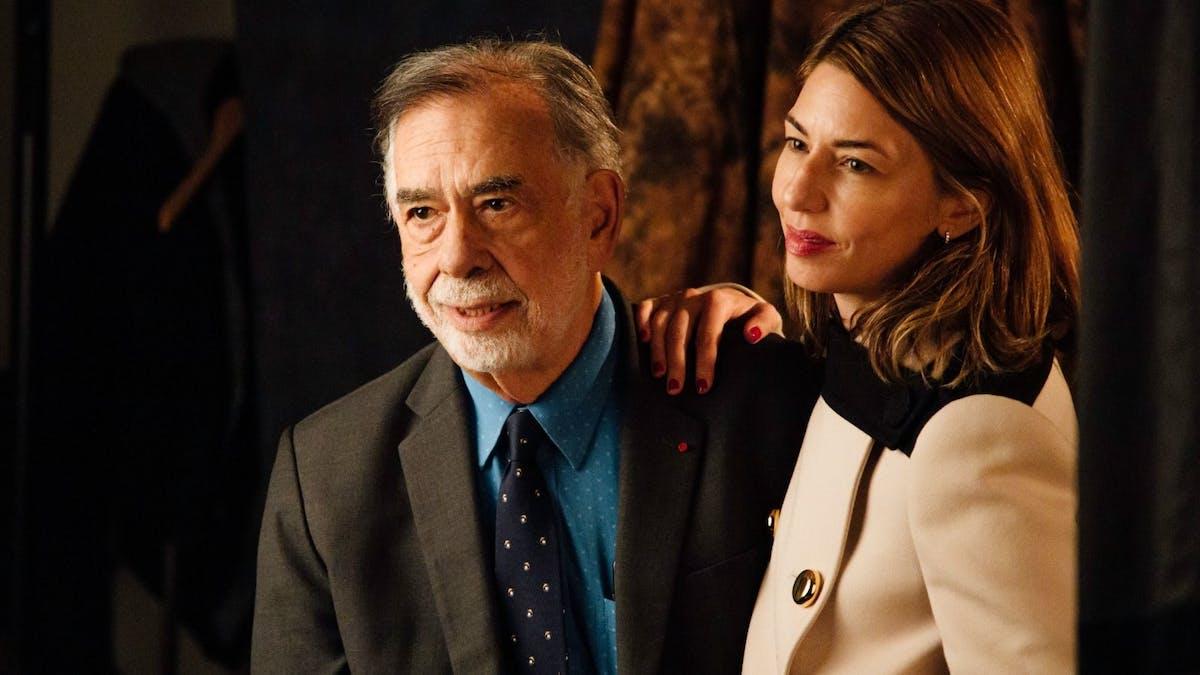 Francis Ford Coppola med Sofia Coppola.