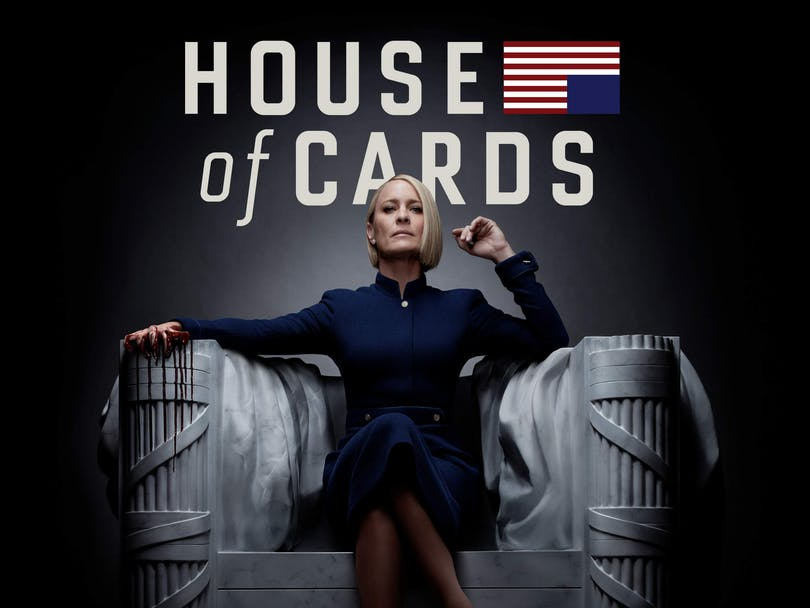 Robin Wright i House of Cards på Netflix