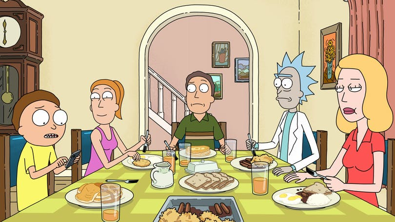 Stillbild ur Rick and Morty