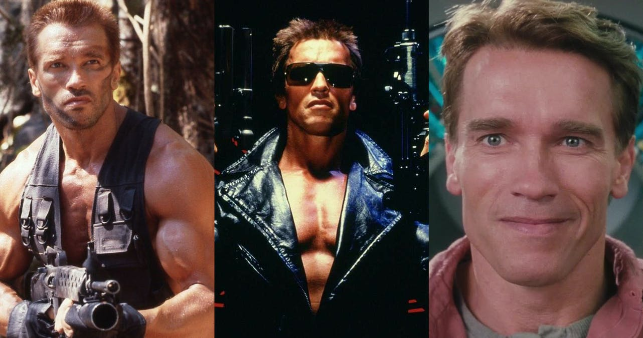 Arnold Schwarzenegger i Commando. Foto: 20th Century Fox.