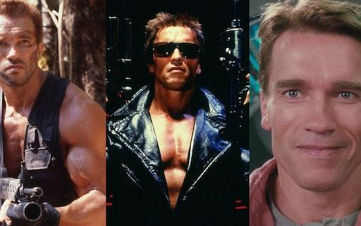 Arnold Schwarzenegger i Rovdjuret. Foto: 20th Century Fox.