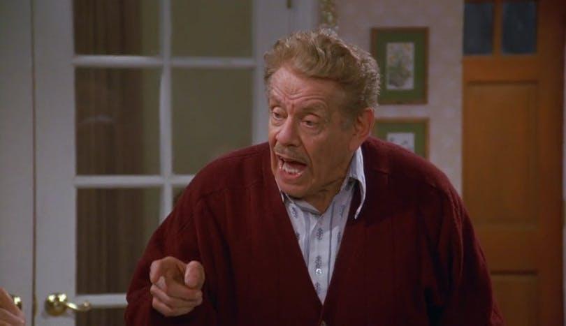 "Jerry Stiller i ""Seinfeld""."