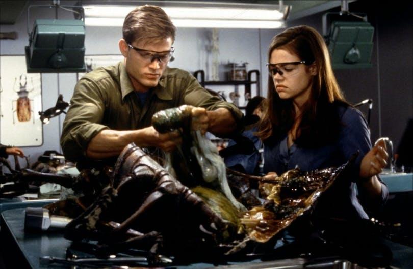 Starship troopers en dissektion