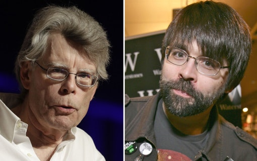 Stephen King och Joe Hill.