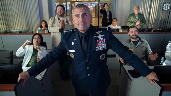 """""""Space Force"""" bjuder på påkostad komedi."""