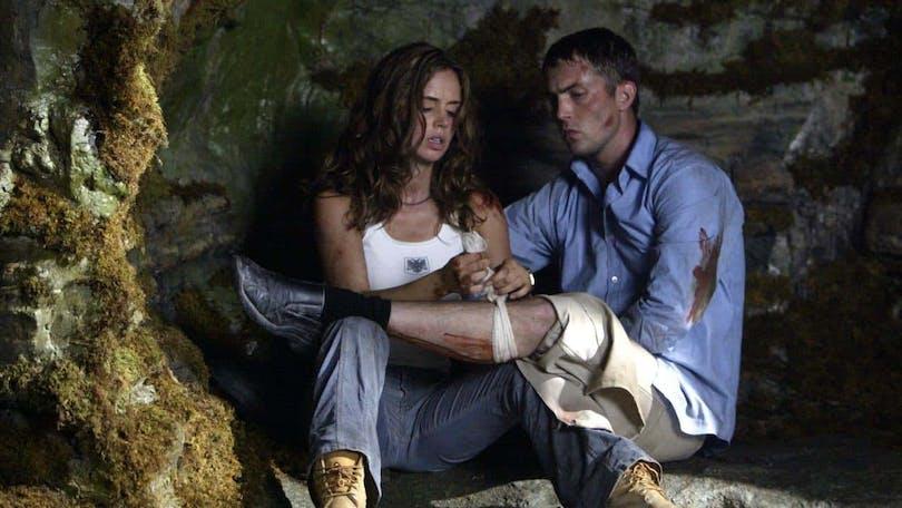 Stillbild ur Wrong Turn (2003)