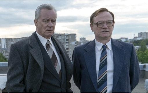 Stellan Skarsgård i serien Chernobyl.