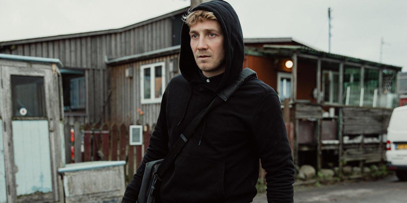 Andreas Jessen i rollen som Adam. Pressbild. Bild: Emilia Staugaard/C More