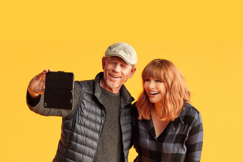Ron Howard och Bryce Dallas Howard
