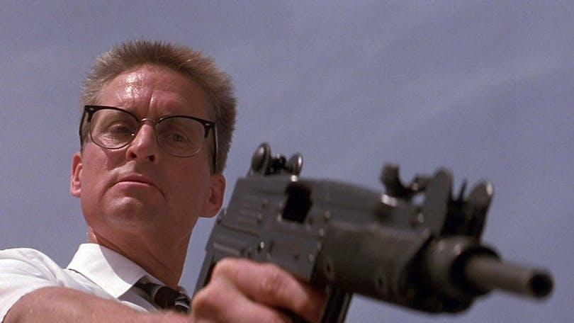 Bill Foster (Michael Douglas) tar INGEN skit idag. Foto: Warner Bros. Pictures.