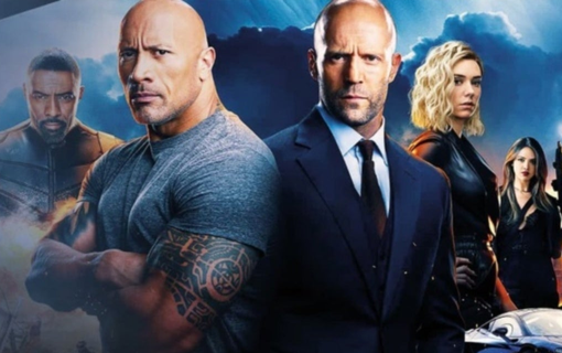 Affisch till Hobbs & Shaw. Foto: Universal Pictures.