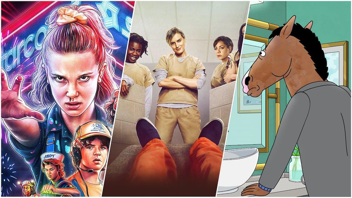 11 serietips på Netflix
