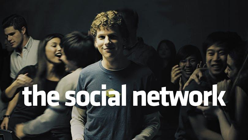 Prisbelönta The Social Network på HBO.