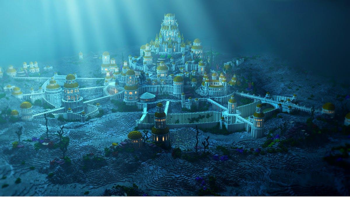 Storfilm om det försvunna riket Atlantis på väg